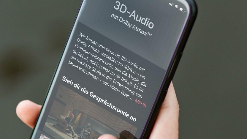 3D-Sound in Apple Music