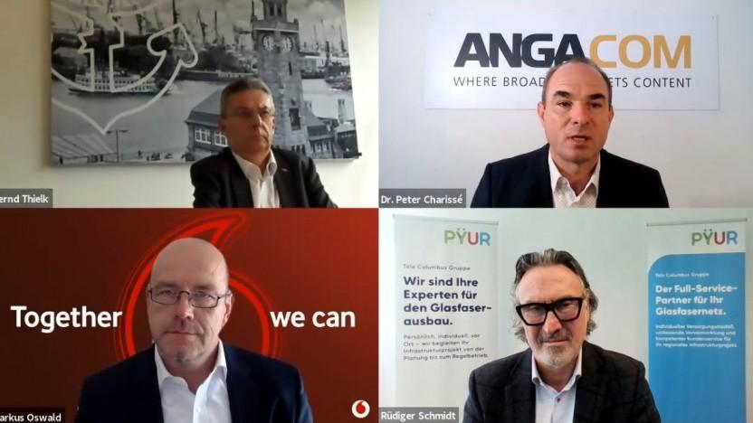 Anga Com: Das Panel zur neuen Gesetzeslage