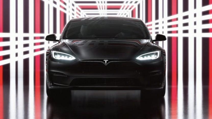 Tesla Model S Plaid Präsentation