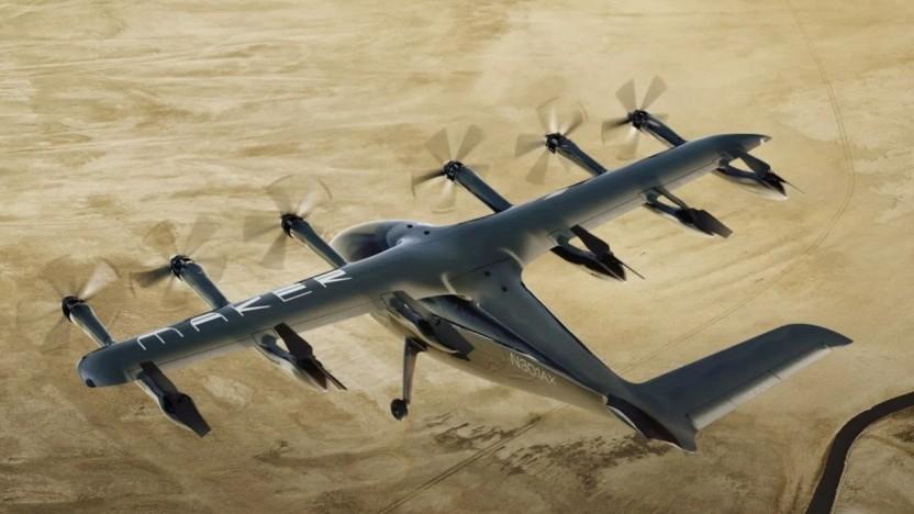 Lufttaxi Maker: United hat in das Luftfahrt-Startup investiert.