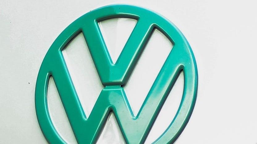 Logo eines alten VW-Busses