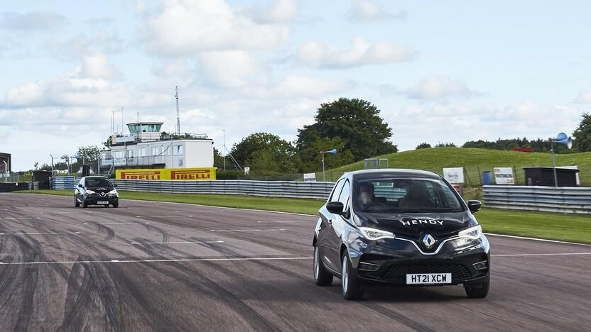 Renault Zoe auf Rekordfahrt