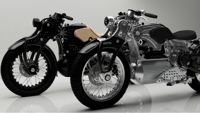 Das Curtiss One ist ein Elektromotorrad mit Retro-Charme.