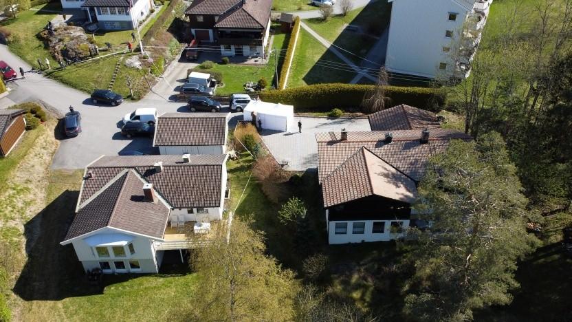 Aus diesem Haus östlich von Oslo verschwand Anne-Elisabeth Hagen am 31. Oktober 2018.