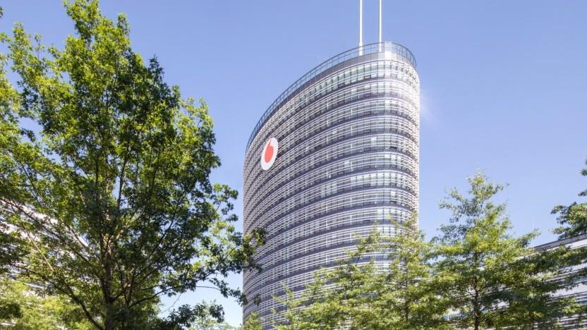 Der Konzernsitz von Telefónica in Deutschland
