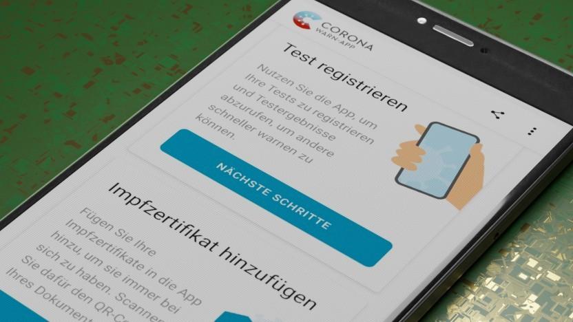 Die Corona-Warn-App soll auch zertifizierte PCR-Tests integrieren.