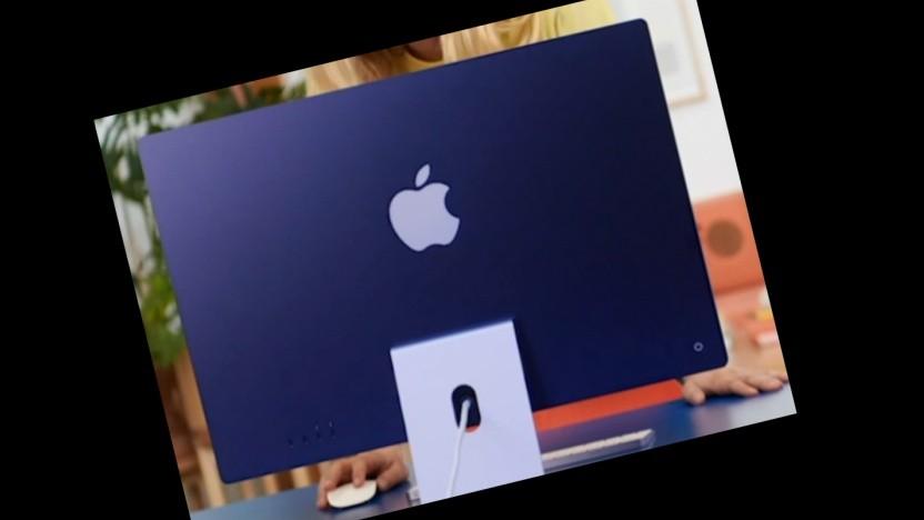 Der iMac wird teils mit schief hängendem Panel ausgeliefert.