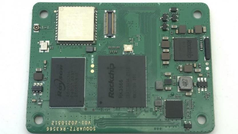 Das Quartz64 kommt als Compute Module SOQuartz.