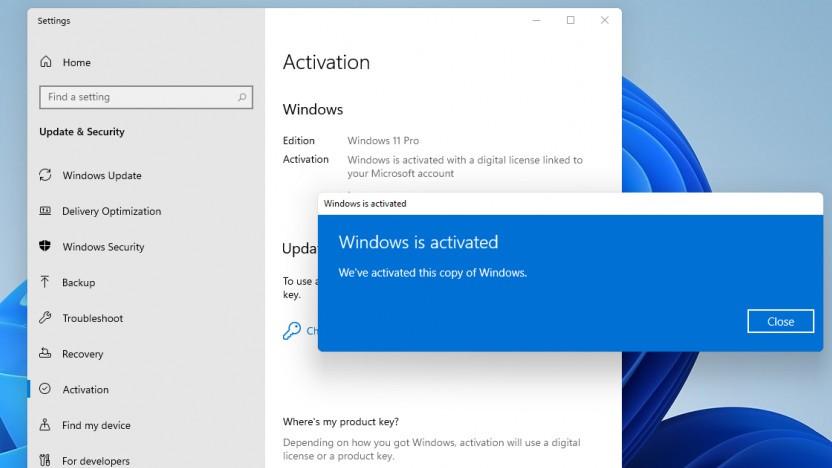 Mit Windows 7 ist auch Windows 11 aktivierbar.
