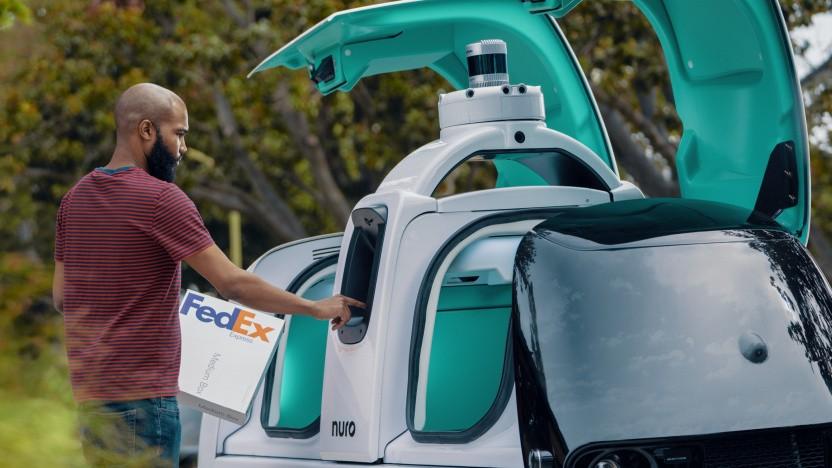 Nuro R2 im Dienst von FedEx