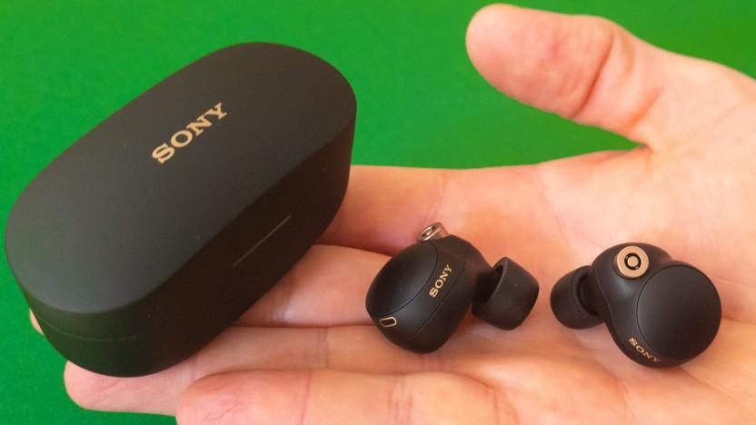 Sonys WF-1000XM4 im Test