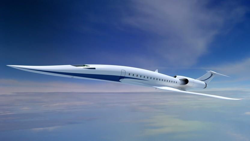 Künstlerische Darstellung eines Überschallflugzeug: nicht mehr nur Zulieferer sein, sondern Entwicklung mitbestimmen