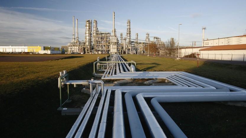 Total-Energies-Raffinierie in Leuna