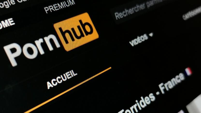 Pornhub wird für die offenbar illegale Verbreitung von Aufnahmen verklagt.