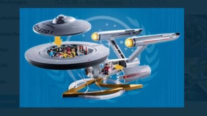 Star Trek: Playmobil bringt 1 Meter langes Enterprise-Spielset