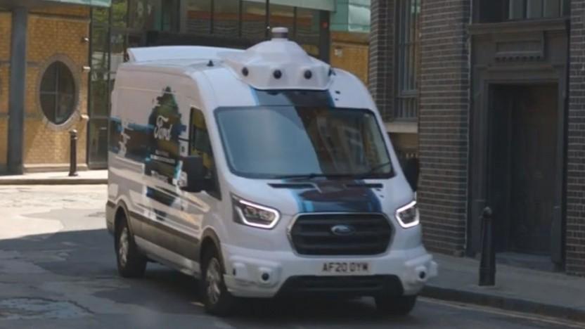 Hermes arbeitet mit Ford zusammen.