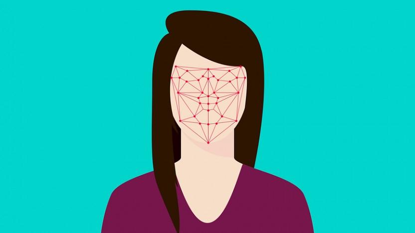 Gesichtserkennung kann biometrische Bilder zur Verifikation verwenden.
