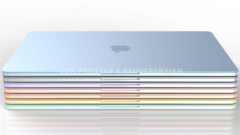 So soll das neue Macbook Air aussehen.