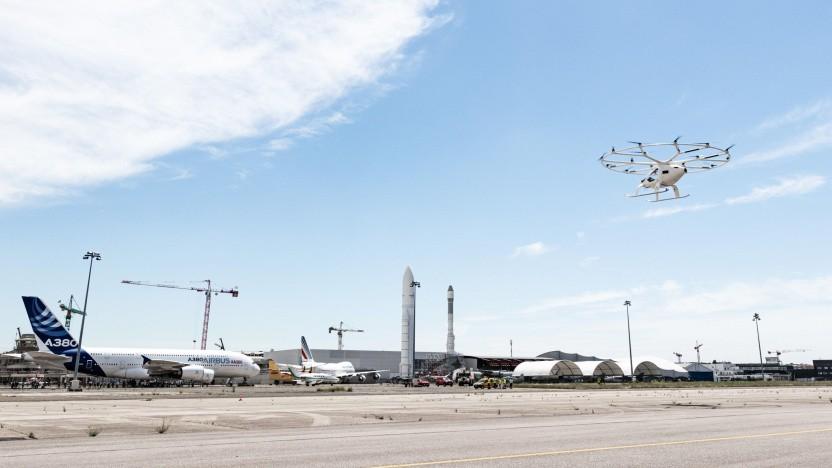 Demonstration des Volocopter X2 beim Paris Air Forum 2021: Auftakt zu einer Testreihe