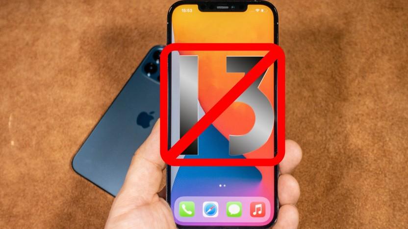 Manch einer könnte mit einem iPhone 13 ein Problem haben.