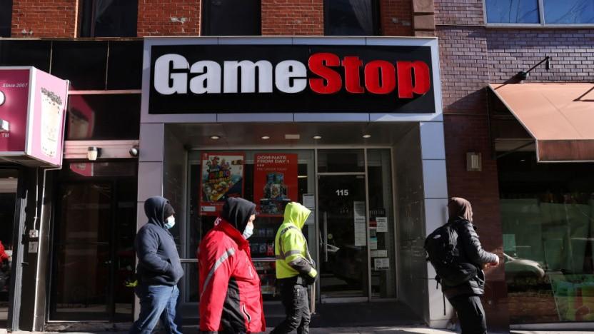 Gamestop profitiert von seinem Aktienkurs.