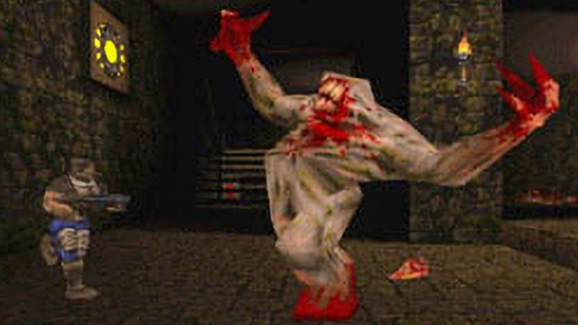 Szene aus Quake