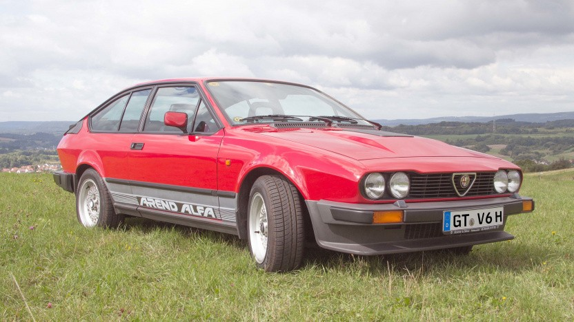 """Vorbild Alfa GTV6 Baujahr 1986: """"Sehr an dem GTV interessiert"""""""