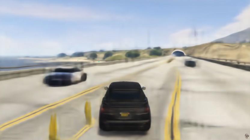 Szene aus Gan Theft Auto