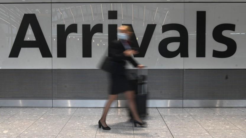 Flughafen Heathrow in London im Juni 2021