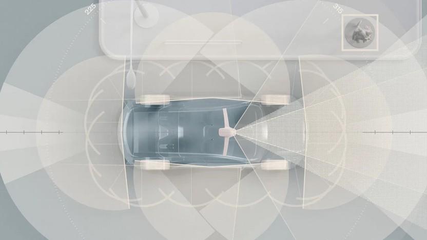 Volvo will Lidar einsetzen.