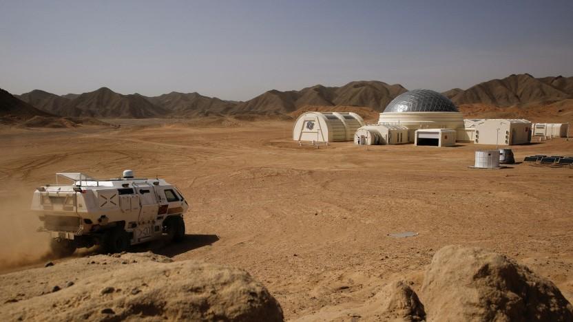 C-Space Project Mars: China probt die Marsbesiedelung in der Wüste Gobi.