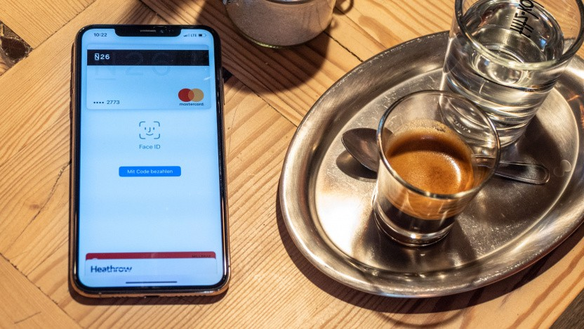 Apple Pay auf einem iPhone