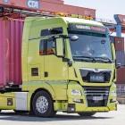 Logistik: Hamburger Hafen testet autonom fahrenden Lkw