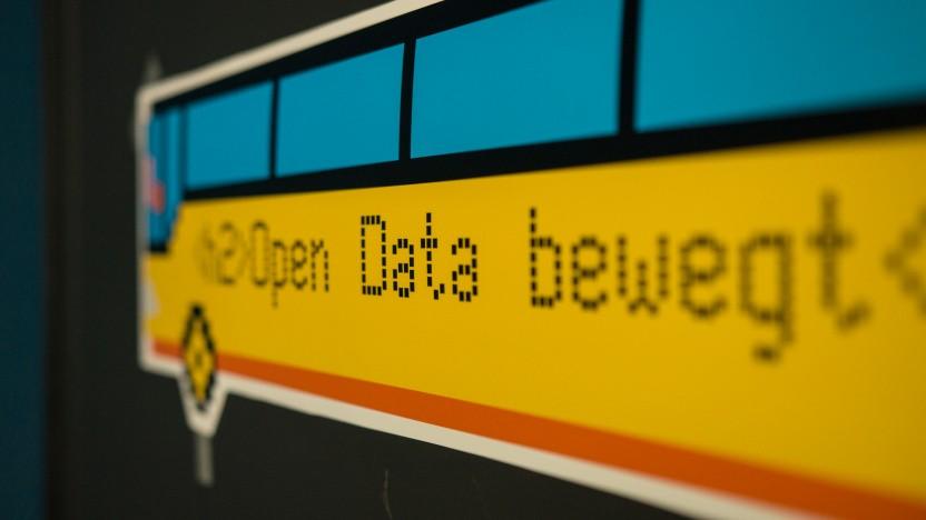 Ein bisschen ausgebremst: der Open-Data-Bus der Open Knowledge Foundation