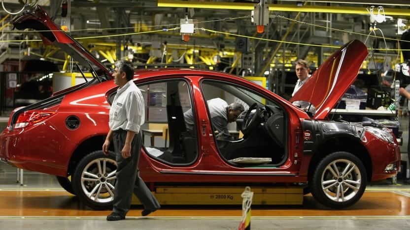 Autoproduktion bei Opel