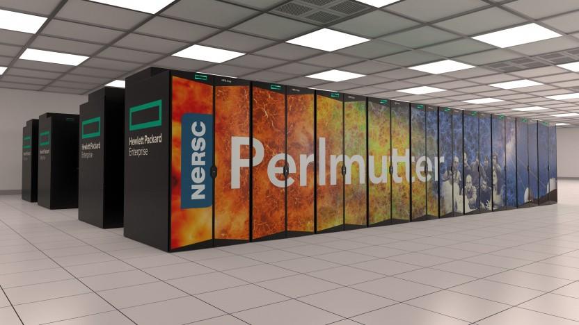 Perlmutter-Supercomputer