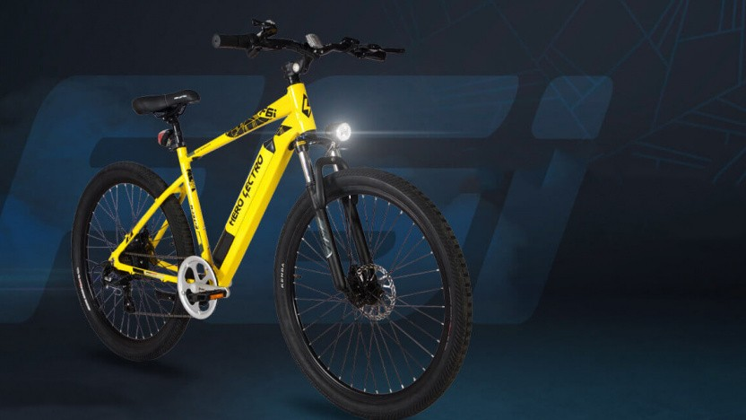 E-Bike von Hero Bikes