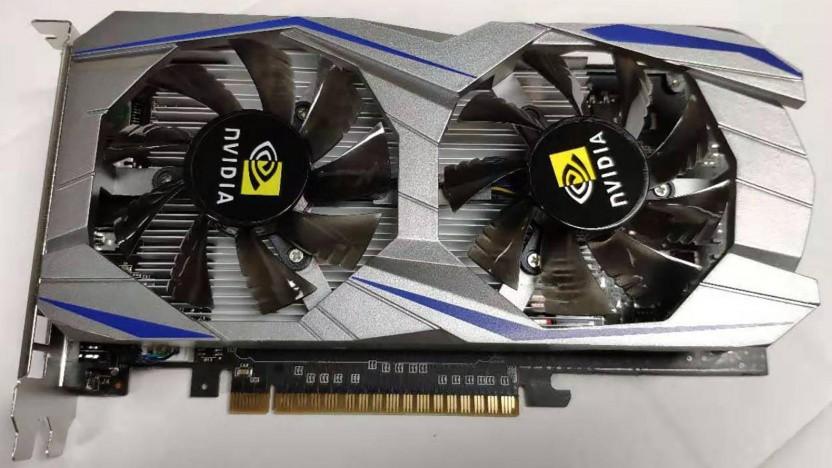 Gefälschte Geforce GTX 1050 Ti