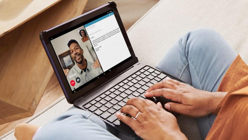 Fire HD 10 Plus mit Tastatur im Test