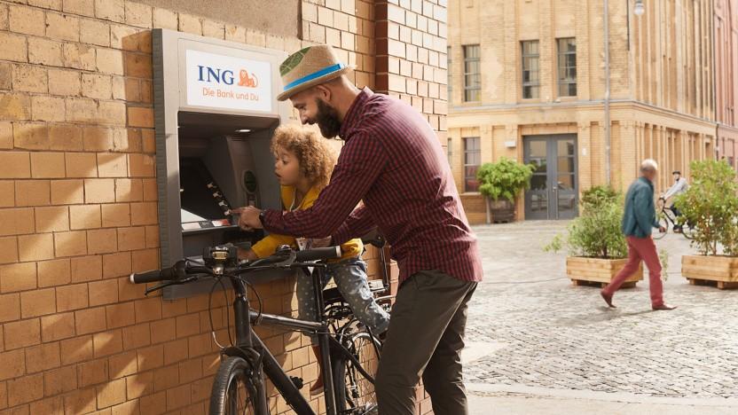 Der Blick auf den Kontostand sorgt bei sparfreudigen ING-Kunden künftig wohl weniger für Freude.