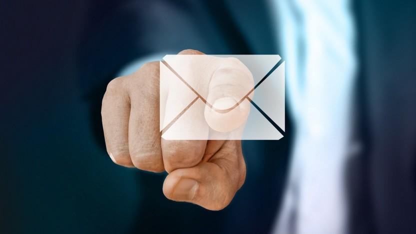 Falsche Sicherheitseinstellungen führen zu E-Mail-Verlust.