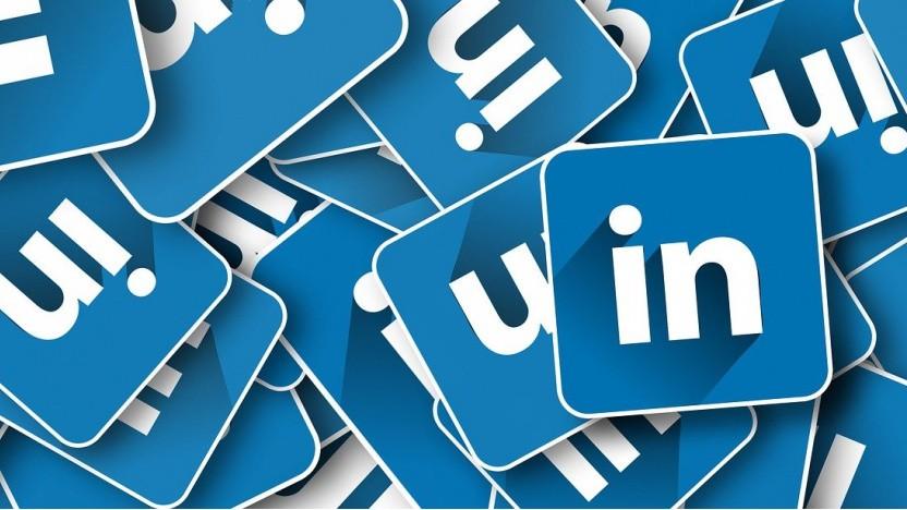 Das Logo von Linkedin