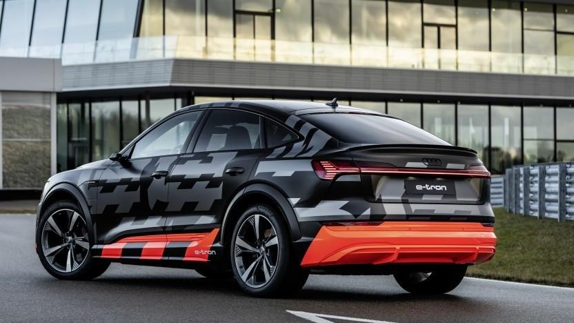 Der Audi E-Tron S Sportback verfügt über drei Elektromotoren.