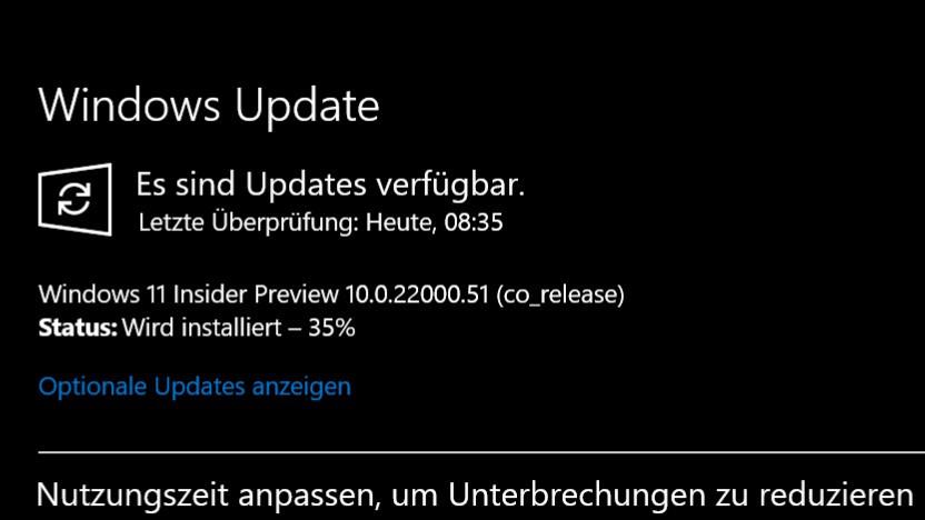 Windows 11 kann bereits getestet werden.