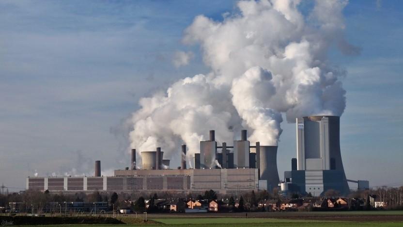 Kohlekraftwerk (Symbolbild): komplexe Wechselwirkungen in der Atmosphäre
