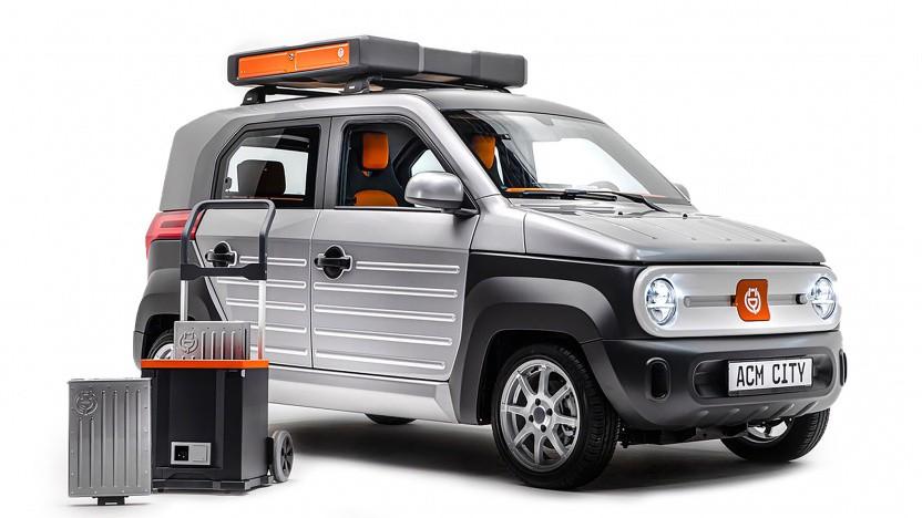 ACM City One: elektrischer Kleinwagen mit Wechselakkus
