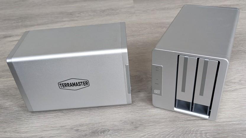 Die Netzwerkspeicher Terramaster F2-210 und F2-422 sind flexibel einsetzbar.
