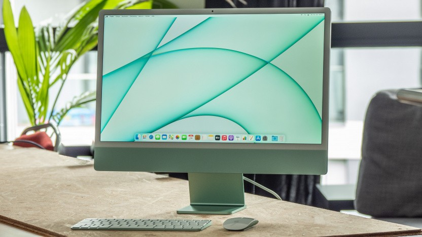 Die Front des iMac ist Geschmackssache.