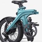 Zahlenschloss eingebaut: Elektrisches Mini-Faltrad Fiido X mit 130 km Reichweite