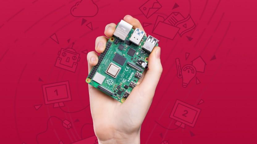 Ein Raspberry Pi 4B